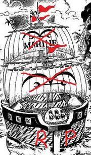Rouge battleship