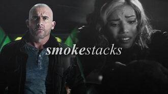 Legends of Tomorrow Smokestacks.