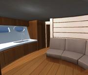 Yacht inside