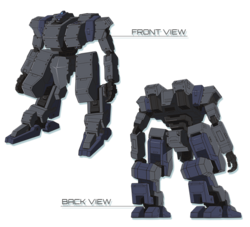 Type-96 MTK-E KOKUYOU-front-back