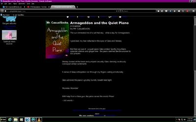 Armageddon & The Quiet Piano
