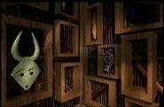 Witch Doctors Hut Interior