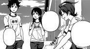 Soma and Megumi meets Miyoko