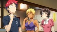 Sōma and co taste their Karaage