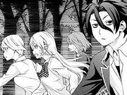 The Nakiri cousins run away from home