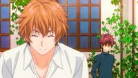 Shun confronts Satoshi (anime)