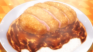 Duck Cutlet Curry (Anime)
