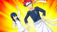 Megumi and Sōma pass Hinako's test