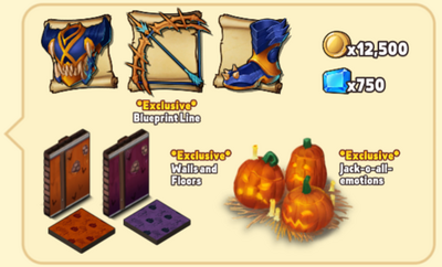 Spooky Shop Package Contents