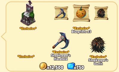 Halloween Package Contents