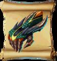 Gauntlets Dragonscale Gauntlets Blueprint.png