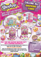 Shopkins Issue 1 Back