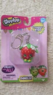 Strawberry kiss dangler
