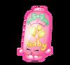 Baby puff art