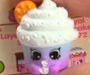 Creamy Cookie Cupcake Blue