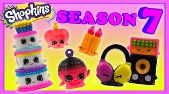 Shopkins Season 7 All New Topkins To Stack Join the Party! shopkinsseason7