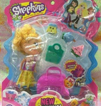 Fake Shopkins and a Shoppie