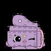 SPKS4 Surprise Egg Belt Purple