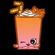 Berry smoothie art