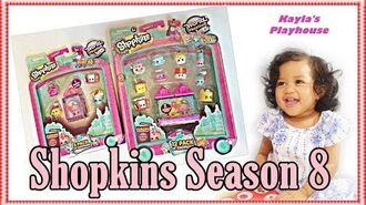 Shopkins Season 8 World Vacation 12 Pack 5 Pack Shopkins