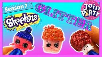 Shopkins Season 7 How to make custom Glitter Shopkins S7 + GIVEAWAY WINNER ANNOUNCED!