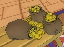 Gold bag 100k