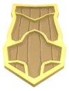 Gold Plated Shield