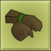 Item icon wood gloves