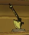 Gold axe