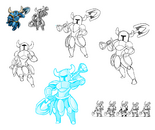 Body Swap Shovel Knight Concept