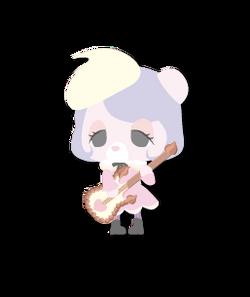 Cream Teddy Myumon