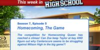 Homecoming, The Game