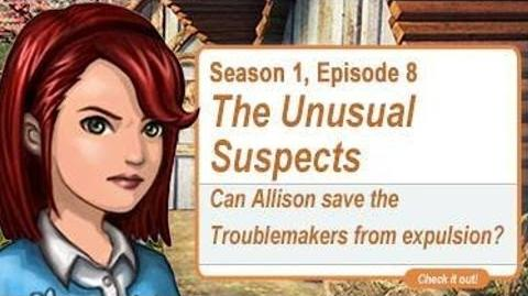 SHS - Season 1 Episode 8 - The Unusual Suspects - Surviving High School Troublemakers