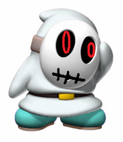 White Shy Guy by Echorus