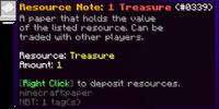 Treasure Note