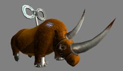 Rhino cybertoy