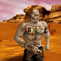 Bullet Storm Cyborg