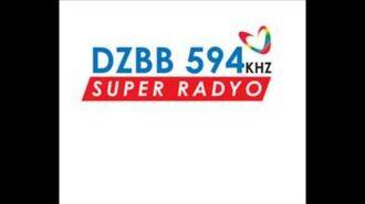 Super Radyo DZBB 594khz Sign on