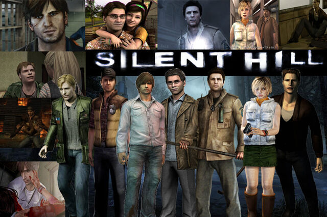 File:All Silent Hill Games In one wallpaper.jpg