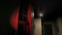 Hallway red light