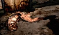 Silenthill2 lying figure