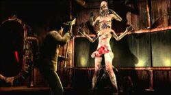 Silent Hill Homecoming Asphyxia Boss fight