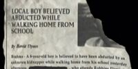 Missing Child Article