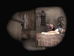 Eileen Sleeping