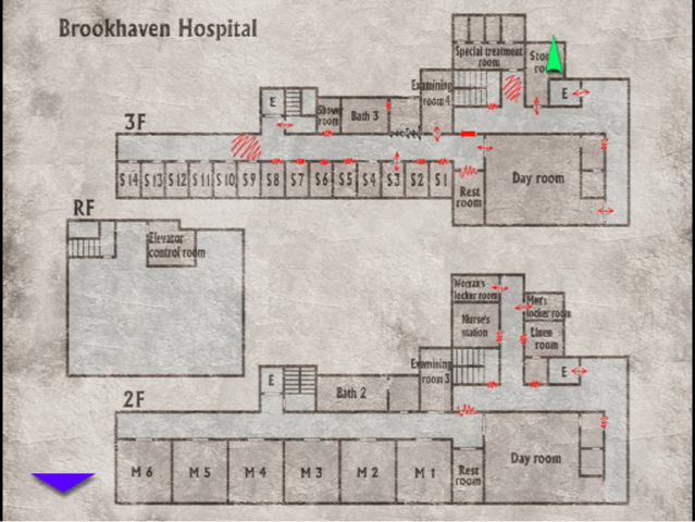 File:Silent Hill 3 Alternate Brookhaven Hospital Map.png