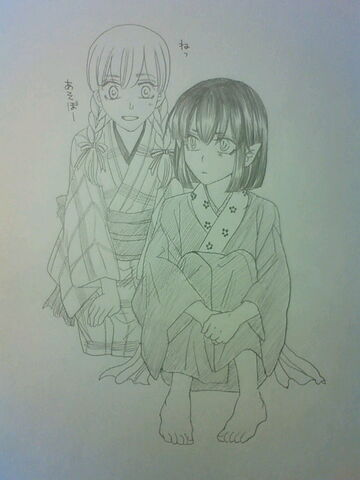 File:Mini Karaku and Yuuka.jpg