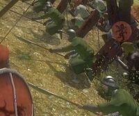 Spear bracing