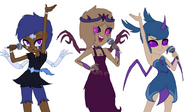 Elidra, Ciardha and Valdis