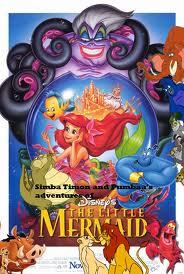 File:Simba, Timon, and Pumbaa Meets The Little Mermaid.jpg