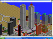 Simcity The World Trade Center by J Dog007